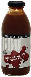 barbecue sauce wythe county cola, mild heat Cookwell & Company Nutrition info