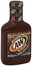 barbecue sauce A & W Nutrition info