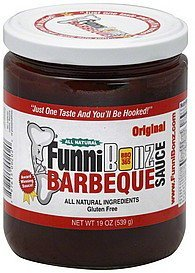 barbeque sauce original Funni Bonz Nutrition info