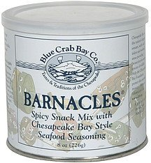 barnacles Blue Crab Bay Co. Nutrition info