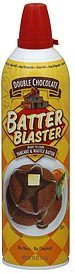 batter pancake & waffle, double chocolate Batter Blaster Nutrition info