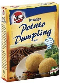 bavarian mix potato dumpling Panni Nutrition info