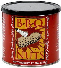 bbq nuts Nut Case Brands Nutrition info