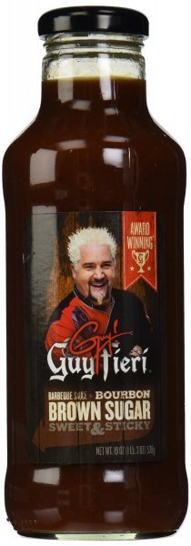 bbq sauce brown sugar bourbon Guy Fieri Nutrition info