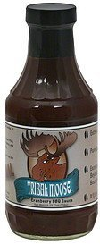 bbq sauce cranberry Tribal Moose Nutrition info