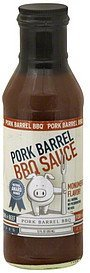 bbq sauce Pork Barrel Nutrition info