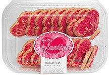 be my valentine party cookies message heart Parco Nutrition info