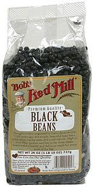 beans black turtle Bobs Red Mill Nutrition info