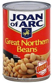 beans great northern Joan of Arc Nutrition info