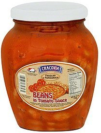 beans in tomato sauce Cracovia Nutrition info
