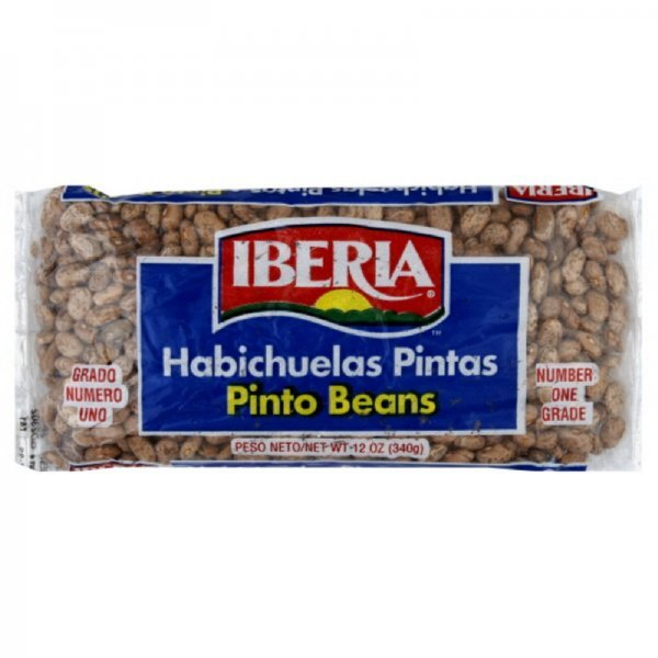 beans pinto IBERIA Nutrition info