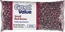 beans small red Great Value Nutrition info