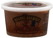 beans with beef Millers Bar-B-Que Nutrition info