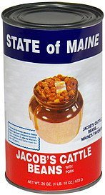 beans with pork State of Maine Nutrition info