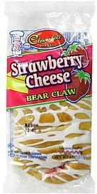 bear claw strawberry cheese Cloverhill Bakery Nutrition info