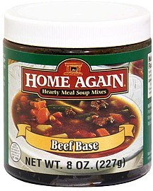 beef base Home Again Nutrition info