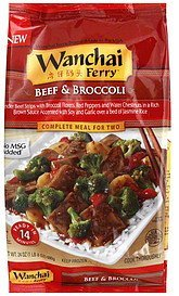 beef & broccoli Wanchai Ferry Nutrition info