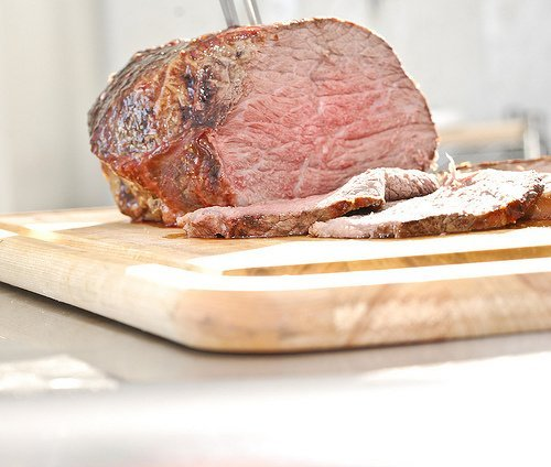 beef, chuck eye roast, boneless, america's beef roast, separable lean only, trimmed to 0 fat, all grades, cooked, roasted usda Nutrition info