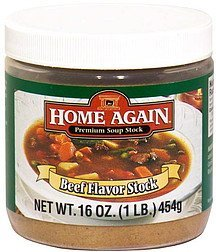 beef flavor stock Home Again Nutrition info
