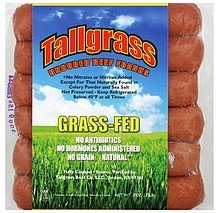 beef franks uncured Tallgrass Nutrition info