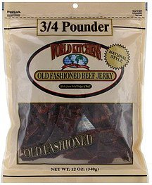 beef jerky old fashioned World Kitchens Nutrition info