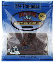 beef jerky teriyaki World Kitchens Nutrition info