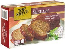 beef meatloaf Top Shelf Nutrition info