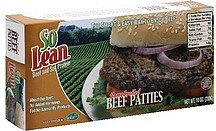 beef patties flame broiled SoLean Nutrition info