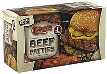 beef patties Chicago Style Nutrition info