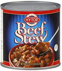 beef stew Hy Tops Nutrition info