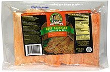 beef tamales Tamale Factory Nutrition info