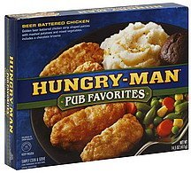 beer battered chicken Hungry-Man Nutrition info
