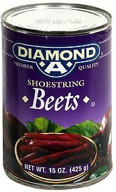 beets shoestring Diamond A Nutrition info