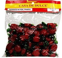berries in foil pinata Casa De Dulce Nutrition info