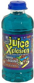 berry blaster Juice Explosion Nutrition info