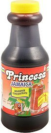 beverage concentrate jamaica Princesa Nutrition info
