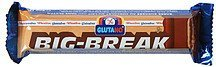 big-break choc bar Glutano Nutrition info