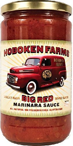 big red marinara sauce Hoboken Farms Nutrition info
