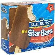 big star bars Blue Bunny Nutrition info