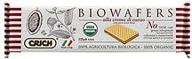 biowafers with cocoa cream filling Crich Nutrition info