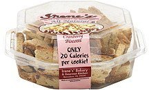 biscotti cranberry Irenes Nutrition info