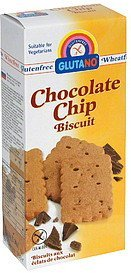 biscuit chocolate chip Glutano Nutrition info
