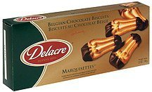 biscuits belgian chocolate Delacre Nutrition info