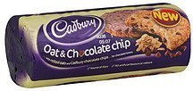 biscuits oat & chocolate chip Cadbury Nutrition info