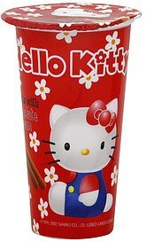 biscuits with chocolate cream Hello Kitty Nutrition info