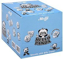 biscuits with milk cream Hello Panda Nutrition info