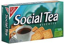 biscuits Social Tea Nutrition info