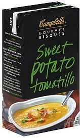 bisque sweet potato tomatillo Campbells Nutrition info