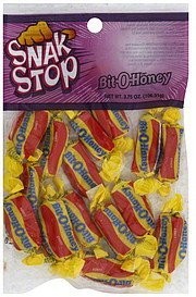 bit-o-honey Snak Stop Nutrition info