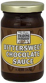 bittersweet chocolate sauce The Food Emporium Trading Company Nutrition info